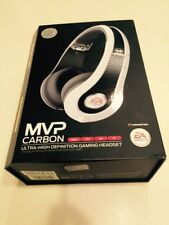 Monster Game MVP Carbon On-Ear Gaming Headset by EA Sports (White)