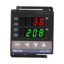 110V/220V REX-C100 Digital PID Temperature Controller RELAY & SSR Thermostat JS