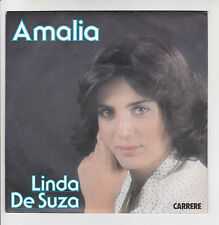 "DE SUZA Linda Vinyle 45T 7"" AMALIA Fado - LES OEILLETS ROUGES - CARRERE 49541"