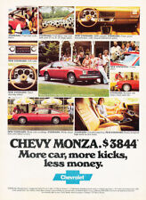 1979 Chevrolet Monza red Vintage Advertisement Ad P57