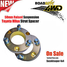 2 x Toyota Hilux Kun Strut Spacer 2'' 50mm Lift Kit Kun26R Suspension Pair