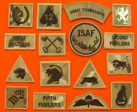 Official Multicam TRF MTP Brigade Division Combat Badges British Army MTP TRF`S