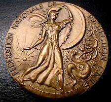 MÉDAILLE-CROIX ROUGE-FÉDÉRATION NATIONALE PROTECTION CIVILE- A.GUZMAN-медаль, 勋章