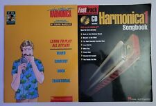 2 - Harmonica Books with Cd's