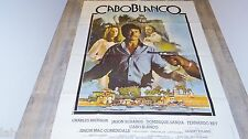 charles bronson CABOBLANCO ! affiche cinema