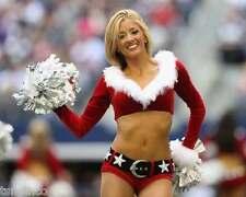 Dallas Cowboys Cheerleader Sydney Durso Football 8x10 Photo 007