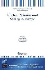 Nuclear Science and Safety in Europe (NATO Secur, , Very Good