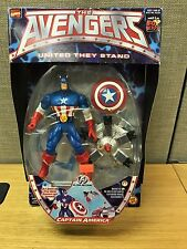 Marvel The Avengers United They Stand Captain America w/Exploding Droid Action F