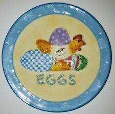 Mary Englebreit Easter Egg Plate 4.5""