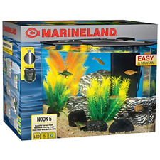 Marineland Nook Aquarium Kit, Easy to maintain, 5 gallon Tank