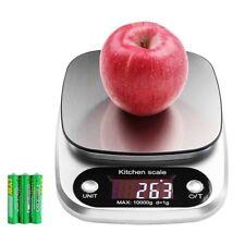 Balance de Cuisine Electronique 10kg/1g de Précision Echelle Numérique Scale LCD
