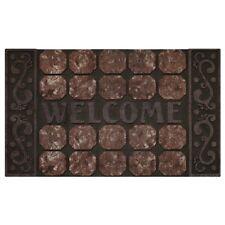 Achim Raised Rubber Mat Octagon Squares - 18x30- RRM1830OS6 Door Mat NEW