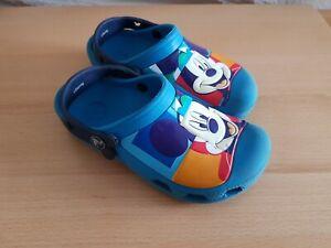 Boys Mickey Disney Crocs 12 13