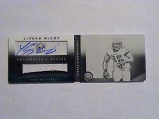 2014 Playbook LeSean McCoy Buffalo Bills Eagles 2 Color Patch Book Auto 1/1