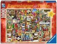 PUZZLE RAVENSBURGER 1000 Piezas Christmas Noël LAS ESTANTERIAS DE NAVIDAD 19561