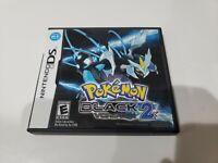 Pokemon: Black Version 2 (Nintendo DS, 2012) CIB