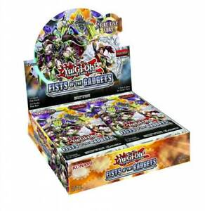 YUGIOH TCG Fists Of The Gadgets Booster Box