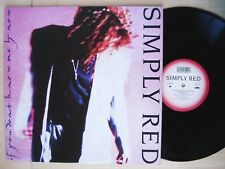 """Simply Red If You Don't Know Me By Now UK 12"""" WEA YZ377T 1989 EX/EX+"""