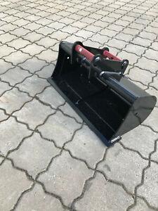 - Grabenräumlöffel starr - Aufnahme MS01 Symlock - 800 mm -