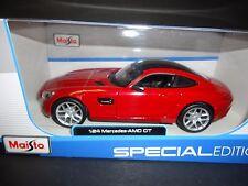 Maisto Mercedes Benz AMG GT Red 1/24