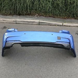 2013-2017 BMW 3 Series F30 M Sport Rear Bumper With Diffuser / PDC