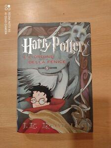 Harry Potter E L'ordine Della Fenice prima edizione tredicesima ristampa 2007