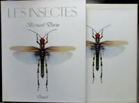 B Durin Les insectes In 4° relié sous étui 120 pages 34 planches Denoel 1981