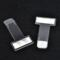 Car VehicleParking Ticket Receipt Permit Card Holder Clip Sticker Windscreen*2pc