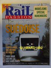 RAIL PASSION n°8 mars 1996 Révolution ferroviaire suédoise Corpet-Louvet