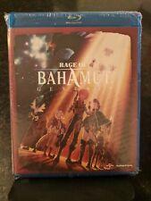 (Blu-ray) RAGE OF BAHAMUT: GENESIS Season 1 (2014 4-Disc w/DVD) RARE & OOP