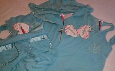 NWT Rare Beach Bunny Swimwear Hoodie & Lounge Pant + Tank LACE Sexy 3pc SET