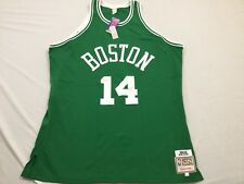 M6 New MITCHELL NESS Boston Celtics Bob Cousy Sewn Green Jersey MEN'S 56