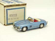 Provence Moulage Kit Monté 1/43 - Mercedes 300 SL Roadster Bleue