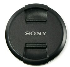 Genuine Sony 72mm Center-Pinch Snap-On Front Lens Cap