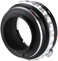 Lens Adapter for Pentax K PK/DA AF Mount Lens to Fujifilm X FX Camera Body