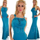 New Sexy A-Line Maxi Dress Cocktail Formal Evening Wedding Wear Size 8 10 S M