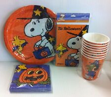 SNOOPY WIZARD & WOODSTOCK HALLOWEEN PARTY PACK