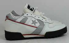 Converse Shoes Free Agent Mens 7 17321 Leather White Rare 1988 Vintage Sneakers