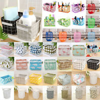 Laundry Foldable Basket Pop Up Washing Bag Bin Hamper Make Up Storage Organizers
