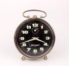 Vintage 1970s Alarm clock german JERGER Retro Old Desk table watch decor