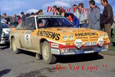 Russell Brookes Opel Manta 400 Welsh Rally 1986 Photograph