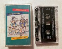 Cassette: Jerry Garcia & David Grisman: Not Just For Kids: rare grateful dead