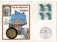 Numisbrief Tag der Deutschen Einheit 17. Juni 1990 - b2018
