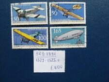 BRD 1991, Historische Luftpostbeförderung, Michel 1522-1525, o