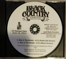 Black Country Communion Man In The Middle Promo Cd Rare Glenn Hughes Bonamassa