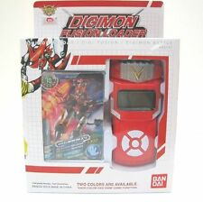 NEW Bandai Digimon Xros Wars RED Fusion Loader Digivice English Date Link NEO