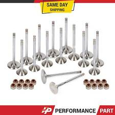 Intake Exhaust Valves w/ Seals for 00-06 Toyota Corolla Matrix Celica GTS 2ZZGE