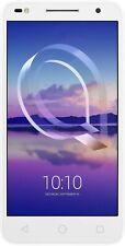 "Alcatel U5 HD 4G 5"" Smartphone 1GB RAM 8GB Unlocked Sim-Free Android White A"