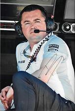 Eric Boullier SIGNED 12x8 , F1 McLaren Director of Racing Portrait 2014