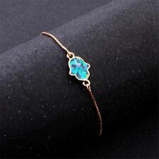 Women Crystal Rhinestone Tennis Bracelet Bangle Adjustable Wristband Jewelry